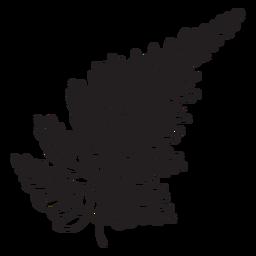 Silver fern stroke