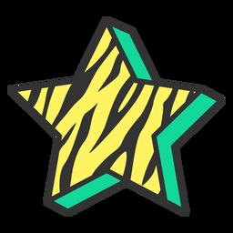 Star sign icon