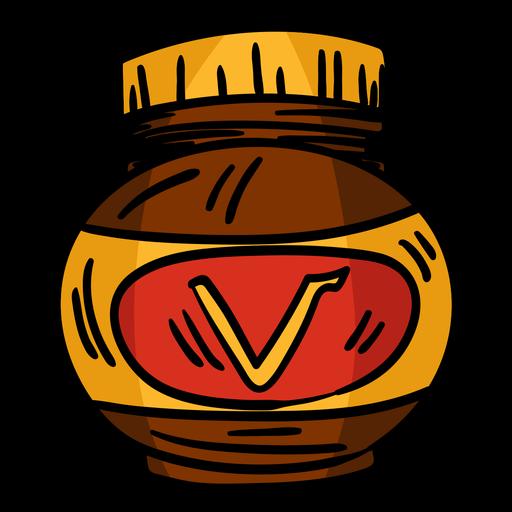 Vegemite Jar Hand Drawn Transparent Png Svg Vector File