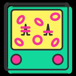 Icono de juego de anillos de agua