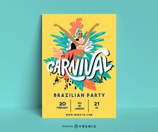 Carnival Illustration Poster Design