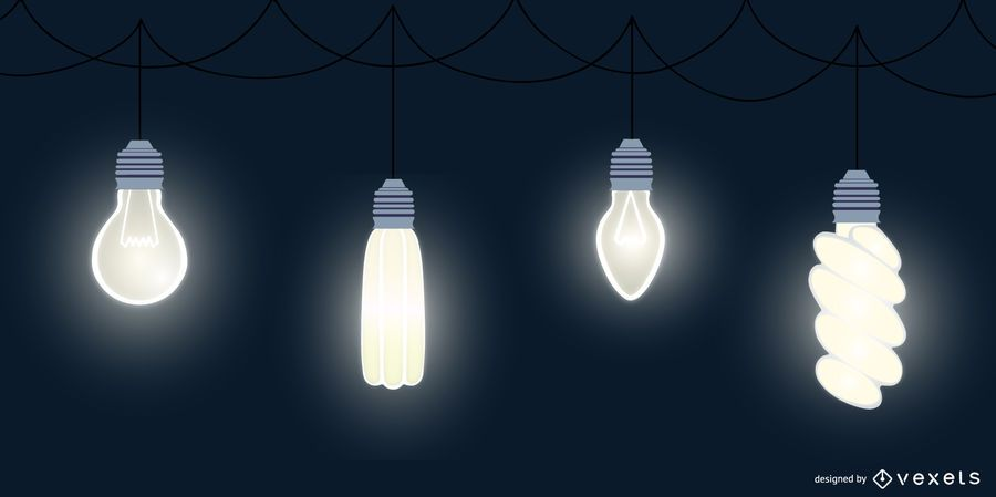 Light Bulb Flat Design Pack