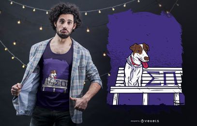 Sigma Pi Dog T-shirt Design