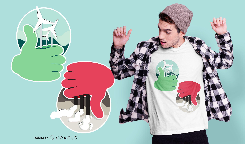 Renewable Energy T-shirt Design