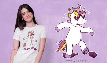 Unicorn Hangover T-shirt Design