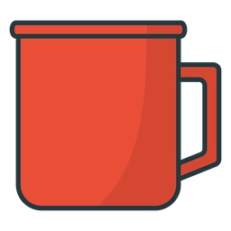 simple mug colored