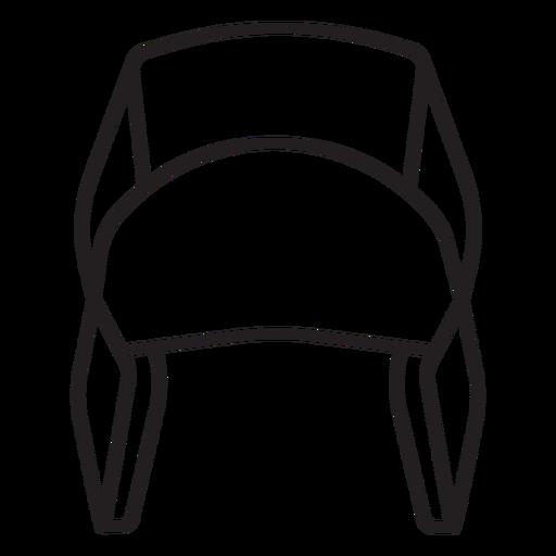 lumberjack hat stroke Transparent PNG