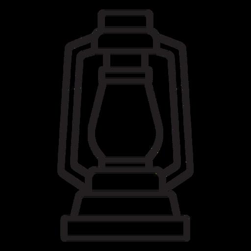 simple lamp lantern stroke Transparent PNG