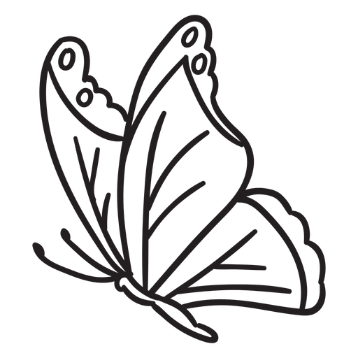 Butterfly stroke sideview Transparent PNG