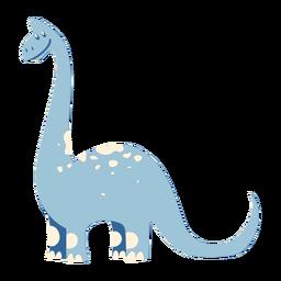 Dinosaurio lindo sonriendo