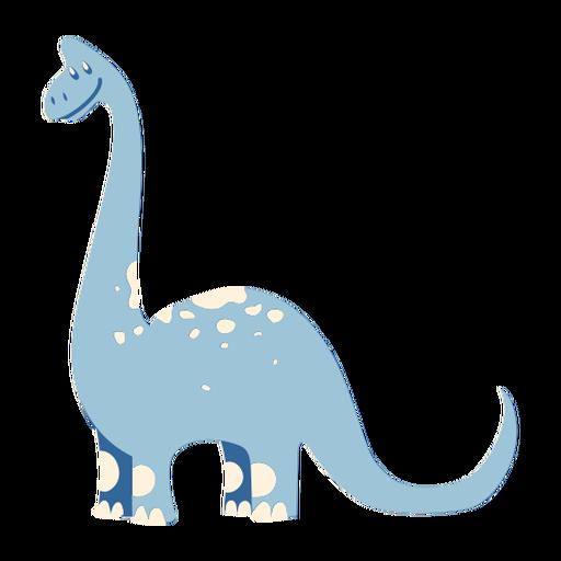 Netter Dinosaurier der lächelt