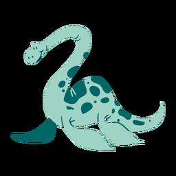 Sorriso bonito de dinossauro