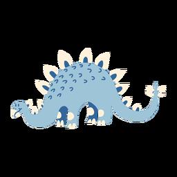 Dinosaurier Kopf auf allen Vieren
