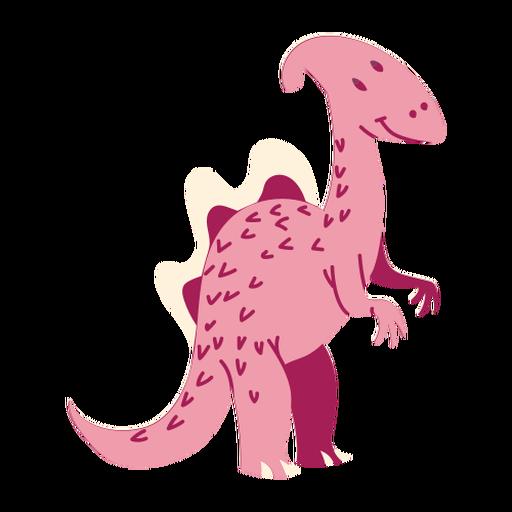 Ilustración de dinosaurio de pie Transparent PNG
