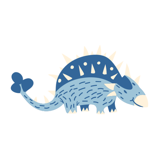 Dinosaur on all fours Transparent PNG