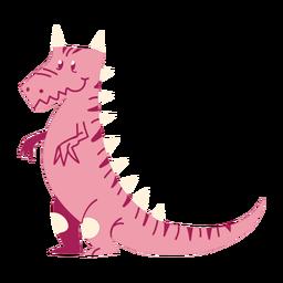Dibujos animados de pie de dinosaurio