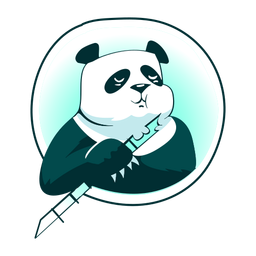 Panda bamboo stylish