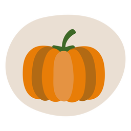 Ilustração de outono abóbora
