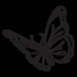 Simple butterfly stroke