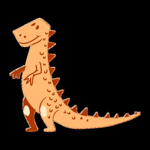 Dibujos animados de dinosaurios de pie Transparent PNG