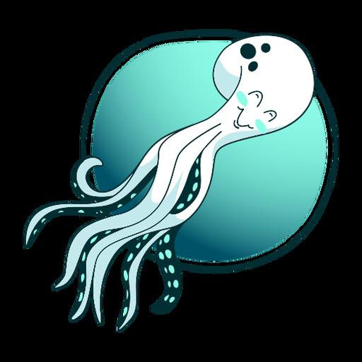 Stylish octopus illustration