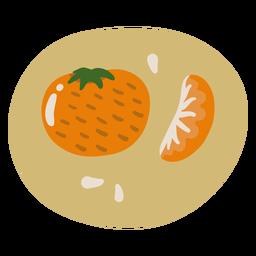 Comida doce de laranja