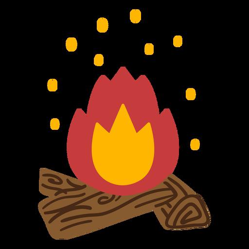 Chimenea de fuego caliente Transparent PNG