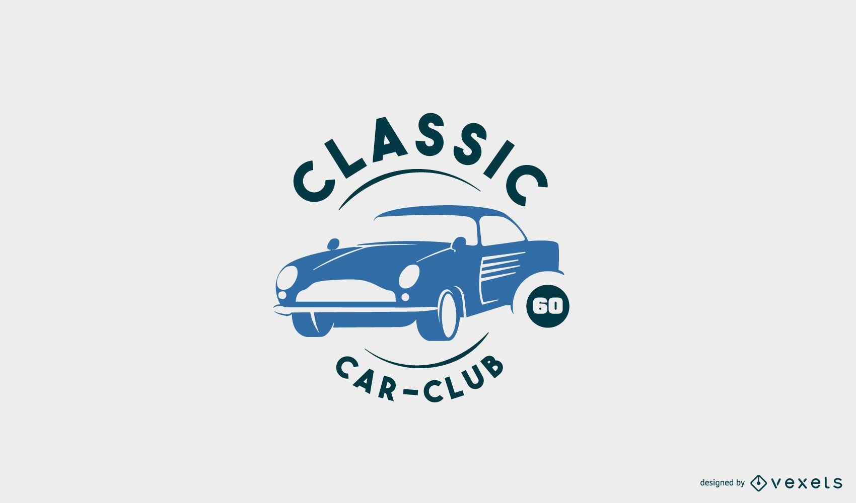 Plantilla de logotipo de coche cl?sico