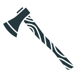 machado de madeira de cor escura
