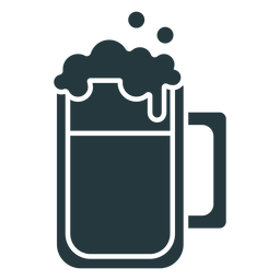 beer mug dark-colored