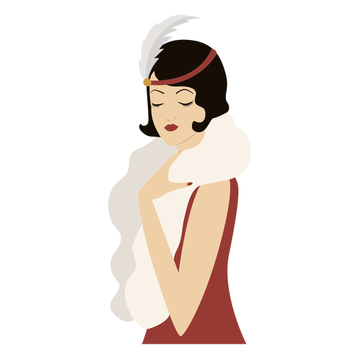 classy fashionable lady colored Transparent PNG
