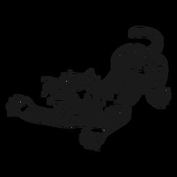 Curso de oldschool tigre com raiva