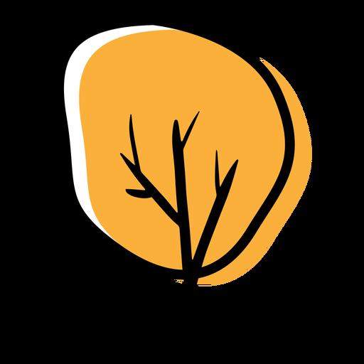 Autumn icon tree Transparent PNG