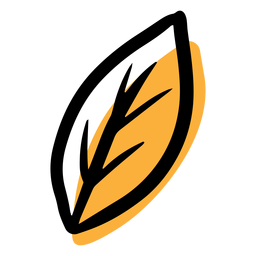 Icono de hoja otoñal