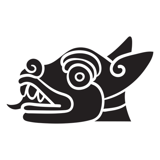 Símbolo animal azteca Transparent PNG