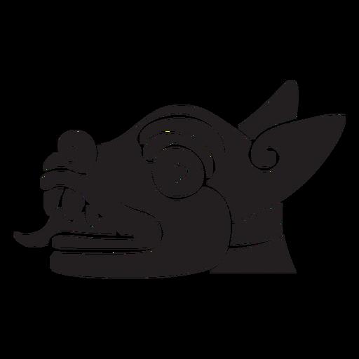 Símbolo animal asteca Transparent PNG