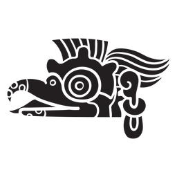 Asteca animal preto
