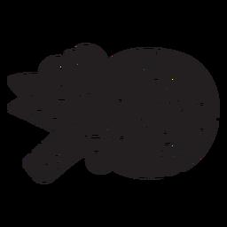 Elemento asteca preto