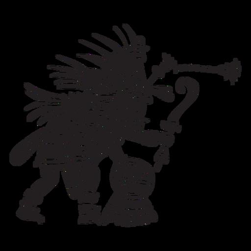 Aztec gods illustration quetzalcoatl