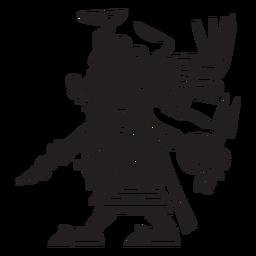 Aztec gods illustration tlazolteotl
