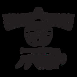Aztec incas symbols