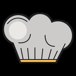 Sombrero de cocina color panadero