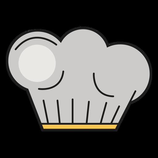 Sombrero de cocina color panadero Transparent PNG