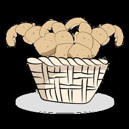 Pão francês de padaria
