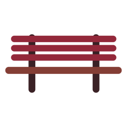 Bench flat icon