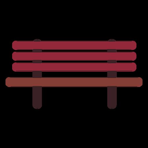 Icono de banco plano Transparent PNG