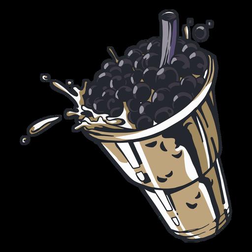 Bubble Tea Drink Transparent Png Svg Vector File