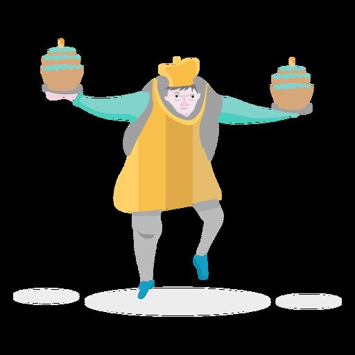 Pastel de panadero de personaje Transparent PNG