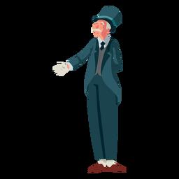 Carácter anciano británico