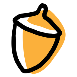 Chestnut autumn icon